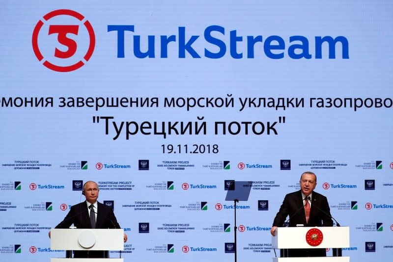 Russia begins TurkStream gas flows to Greece, North Macedonia