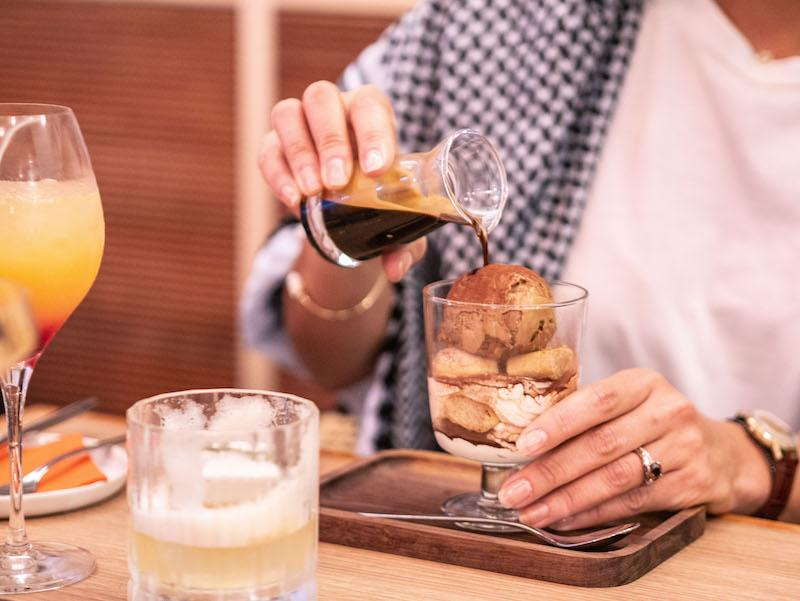 Some affogato action going on there. Photo: The Affogato Lounge