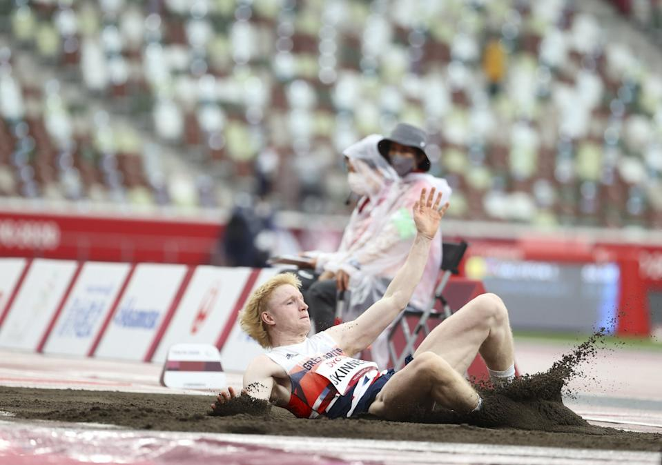 Zak Skinner missed out on a medal by just two centimetres (Picture:  imagecomms)