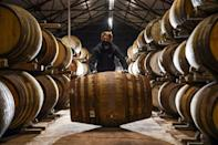 """""""We are an incredibly old and resilient industry, the distillery's managing director, John Laurie, told AFP"""