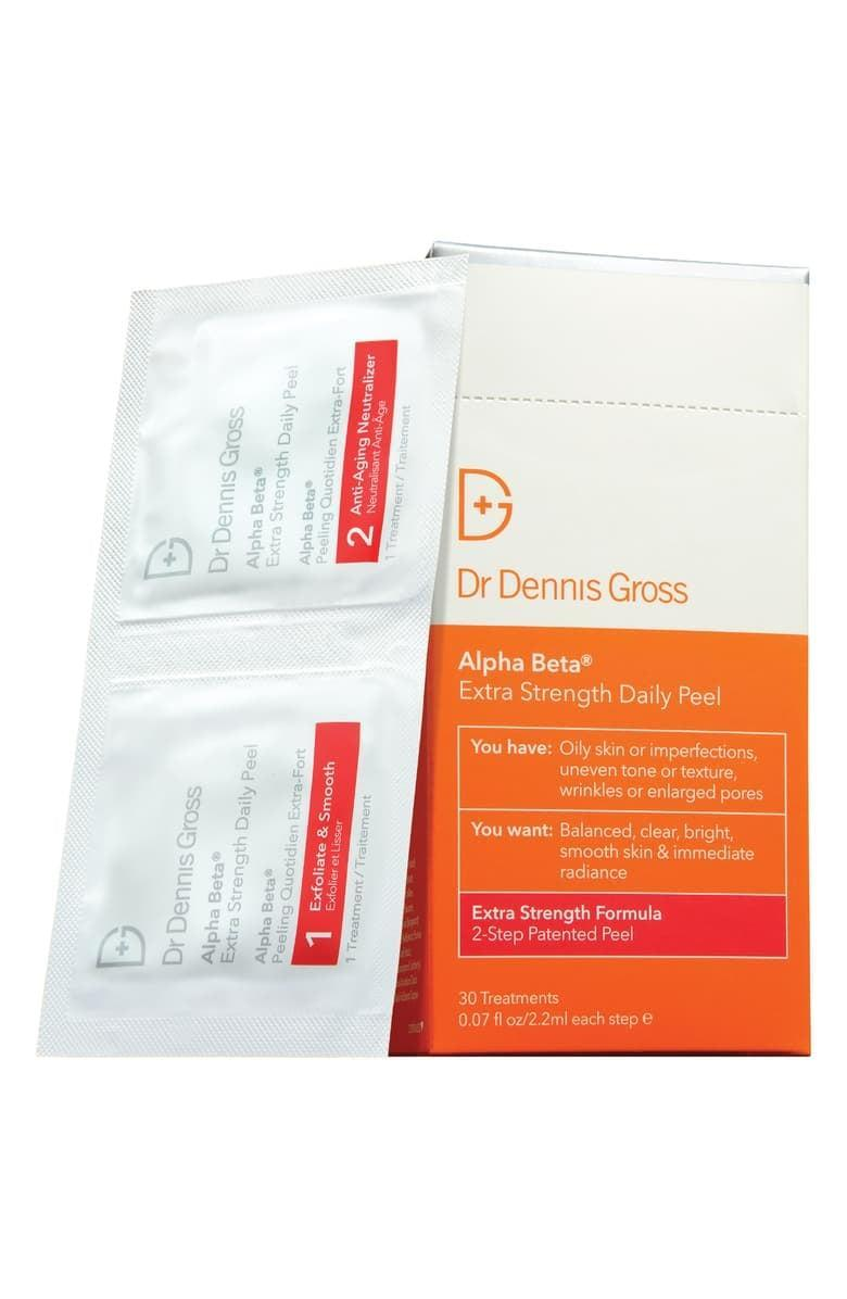 <p>The <span>Dr. Dennis Gross Skincare Alpha Beta Peel Extra-Strength Formula</span> ($88) is a facial in a packet! Give your skin the boost it needs with these potent peel pads.</p>