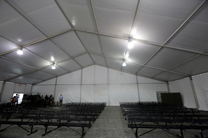 A view of the U.S. Customs and Border Protection (CBP) temporary holding facilities in El Paso, Texas, U.S., May 2, 2019. (Photo: Jose Luis Gonzalez/Reuters)