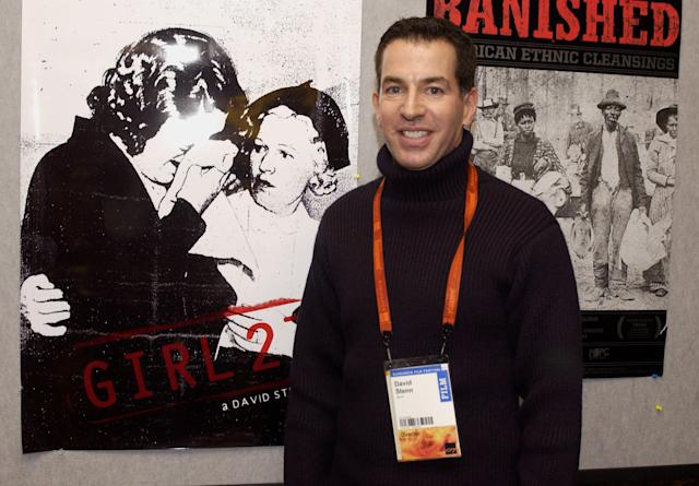 David Stenn took his documentary  <i>Girl 27</i> to the Sundance Film Festival in 2007. (Photo: Clayton Chase/WireImage for Sundance Film Festival )