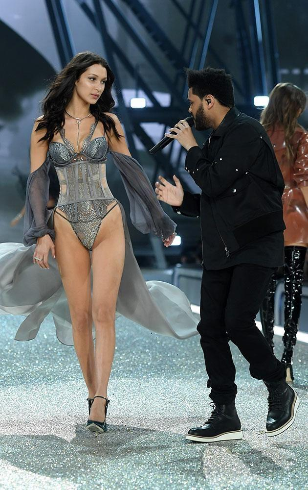 Bella and Abel split in November, just prior to the 2016 Victoria's Secret show in Paris. Photo: Getty Images