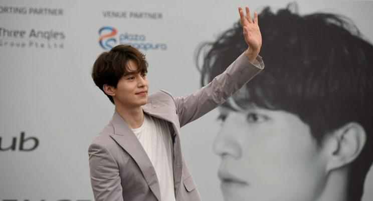 Lee Dong-wook in Singapore