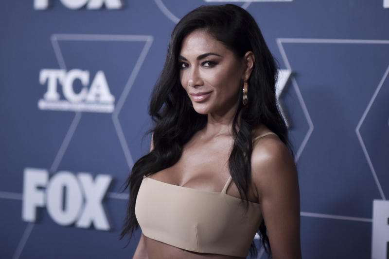 Nicole Scherzinger attends the FOX All Star party at theTelevision Critics Association Winter press tour on Tuesday, Jan. 7, 2020, in Pasadena, Calif. (Photo by Richard Shotwell/Invision/AP)