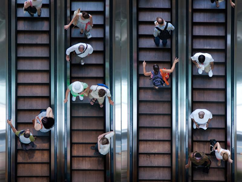 Standing on Escalators Might Be More Efficient, But It Still Makes You a Monster