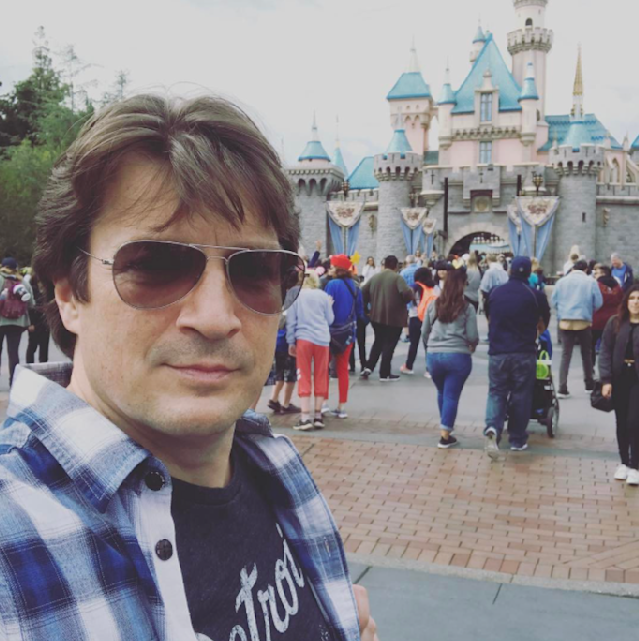 """<p>A trip to Disneyland provided the former <em>Castle</em> star with the perfect opportunity to stategically pose and make this joke: """"So… much… castle…"""" (Photo: <a href=""""https://www.instagram.com/p/BT0PoOtALjE/"""" rel=""""nofollow noopener"""" target=""""_blank"""" data-ylk=""""slk:Nathan Fillion via Instagram"""" class=""""link rapid-noclick-resp"""">Nathan Fillion via Instagram</a>) </p>"""