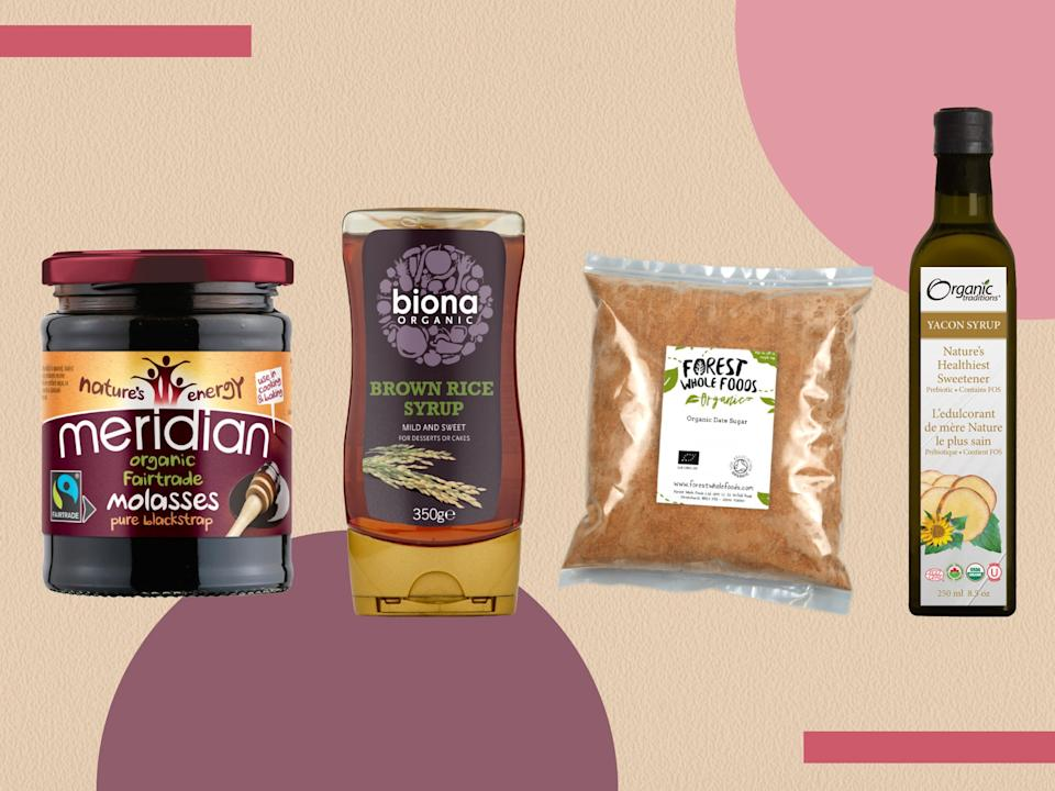 <p>Natural doesn't mean no sugar at all, but these contain less of the stuff than regular granules </p> (The Independent)
