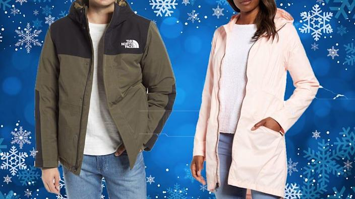 Brave the elements in style with these jacket, now majorly discounted at Nordstrom.