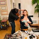 <p>Arizona Muse posted a picture on Instagram of her breastfeeding while her make-up artist did her eyebrows. She captioned it, aptly, 'Multi tasking'. <em>[Photo: Instagram]</em> </p>