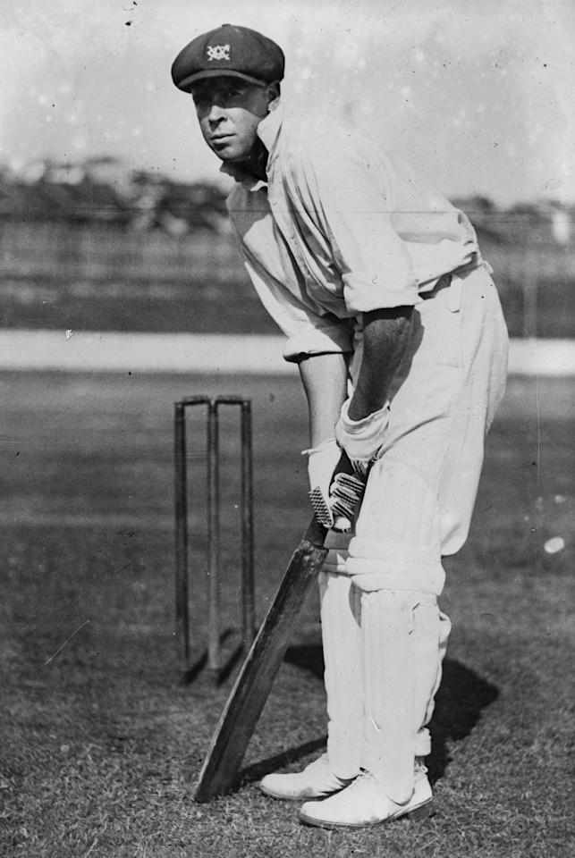 30th January 1930:  Australian cricketer William H Ponsford.  (Photo by Fox Photos/Getty Images)