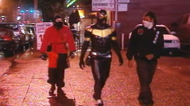 Citizen Superhero 'Phoenix Jones' Arrested in Seattle (ABC News)