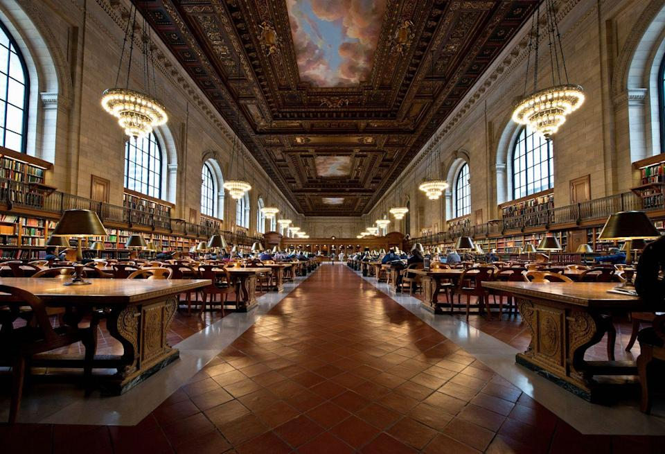 <p>Walk up the steps of the Beaux-Arts Stephen A. Schwarzman Building of the New York Public Library and past the Library Lions to discover one of the city's best public spaces. Because of the COVID-19 outbreak, The Library offers limited services at select library locations for holds pickups and returns.</p>