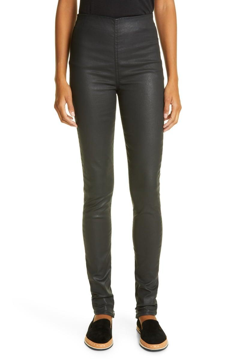 <p><span>rag &amp; bone Nina High Waist Pull-On Coated Jeans</span> ($169, originally $225)</p>