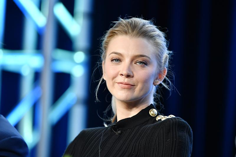 """PASADENA, CALIFORNIA - JANUARY 13: Natalie Dormer of """"Penny Dreadful: City of Angels"""" speaks during the Showtime segment of the 2020 Winter TCA Press Tour at The Langham Huntington, Pasadena on January 13, 2020 in Pasadena, California. (Photo by Amy Sussman/Getty Images)"""