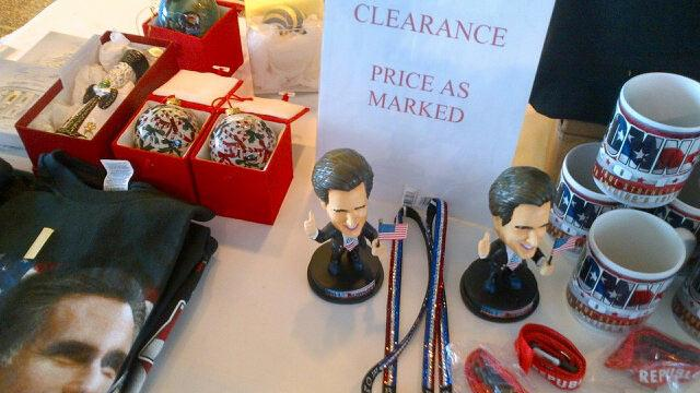 Romney Merchandise Priced to Sell