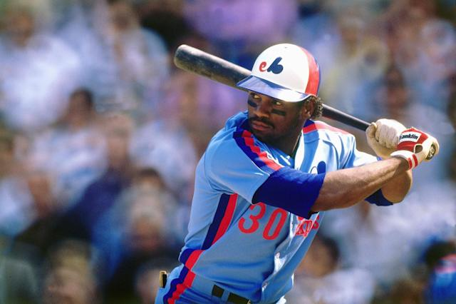Tim Raines received 86 percent of the vote from the Hall of Fame electorate. (Getty Images)