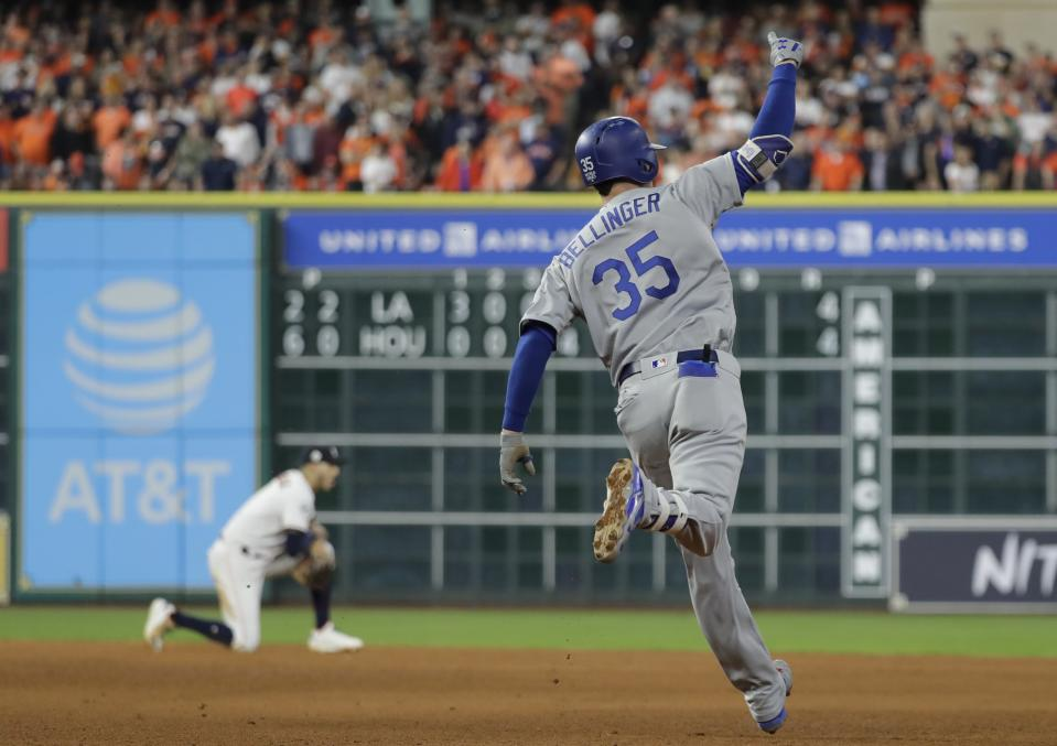 Cody Bellinger hit 39 home runs as a 21-year-old rookie in 2017. (AP Photo)
