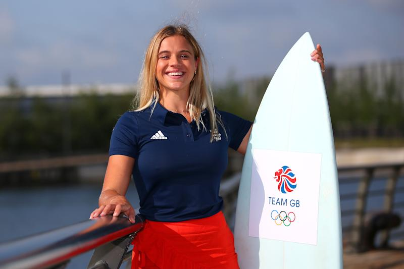 Surfer and Love Island star Laura Crane is excited about the sport's inclusion in next year's Tokyo Olympics