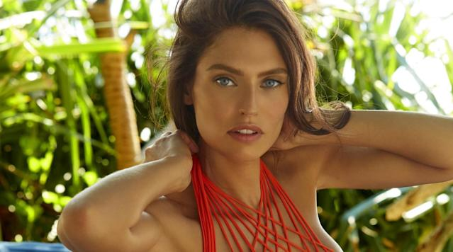 Bianca Balti was photographed by James Macari in Sumba Island. Swimsuit by MIKOH.