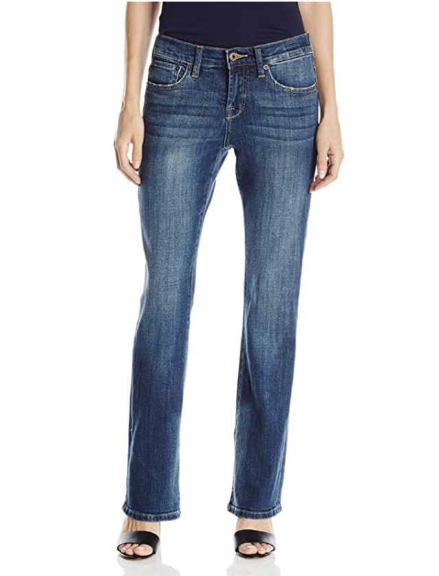 Reviewers adore these stretchy jeans. (Photo: Amazon)