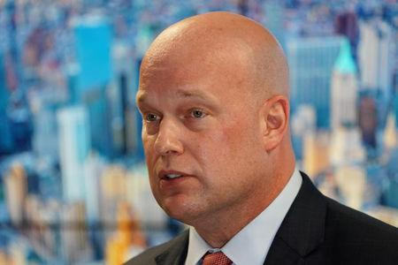 Acting U.S. Attorney General Matthew Whitaker speaks at the Joint Terrorism Task Force office in New York
