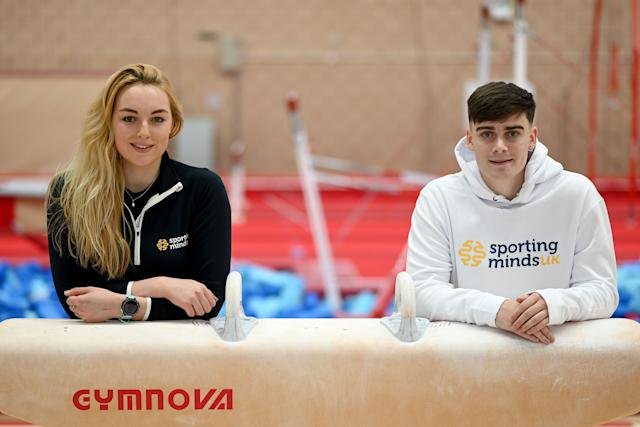 Teenager Callum Lea (right) set up the Sporting Minds charity to help elite sports stars (Sporting Minds UK/Jasmine Punter)