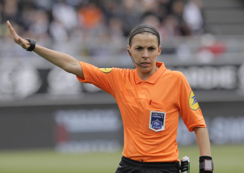French referee Stéphanie Frappart.