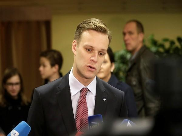 Lithuanian Foreign Minister Gabrielius Landsbergis (Photo Credit - Reuters)