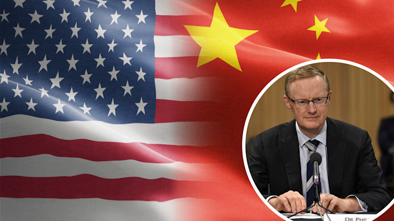 Lowe expresses concerns for US-China trade war. Source: Getty
