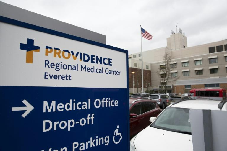 The first US case of a new virus involves a US resident in his 30s now under observation at the Providence Regional Medical Center, officials said (AFP Photo/Jason Redmond)