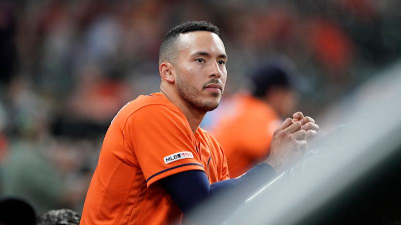 Rib fracture during massage puts Astros shortstop Carlos Correa on injured list