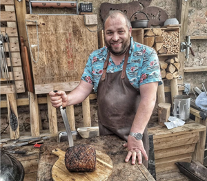 Marcus Bawdon BBQ master from the UK
