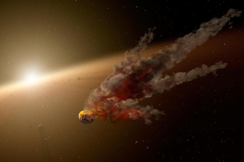 The asteroid is one of five due to fly past Earth over the weekend: Nasa/JPL-Caltech