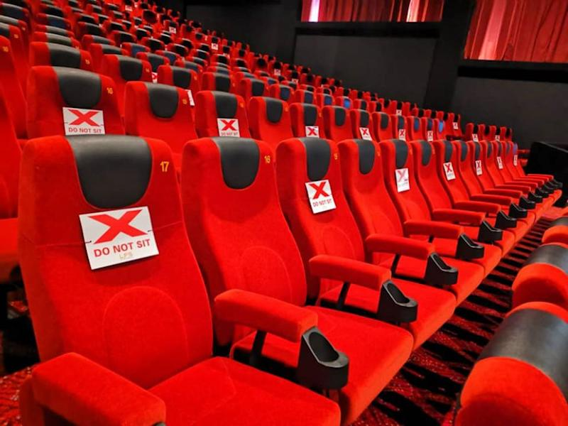 The gender-segregated seating is on top of the existing gap seating required at all local cinemas.