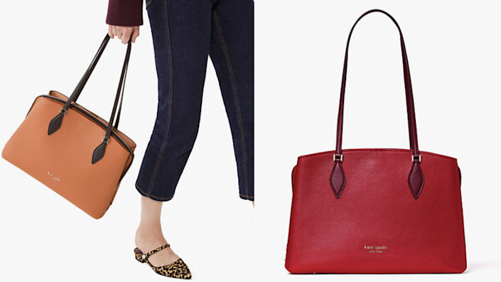 You'd be hard-pressed to find a bag as big and bright as this one.