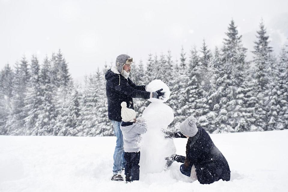 "<p>We're all dreaming of a white Christmas. If it actually happens near you, take advantage of it! Building a snowman is a fun thing to do together as a family, and it's the cheapest lawn decoration you can have.</p><p><a class=""link rapid-noclick-resp"" href=""https://www.amazon.com/TOYMYTOY-Snowman-Decorating-Dressing-Decoration/dp/B07HQLGZWW/?tag=syn-yahoo-20&ascsubtag=%5Bartid%7C10063.g.34864266%5Bsrc%7Cyahoo-us"" rel=""nofollow noopener"" target=""_blank"" data-ylk=""slk:SHOP SNOWMAN ACCESSORIES"">SHOP SNOWMAN ACCESSORIES</a></p>"