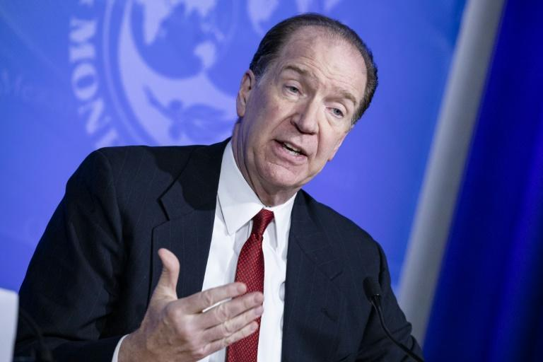 "World Bank Group President David Malpass warns some low income countries already face a ""red alert"" on their debt"