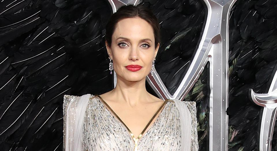 Angelina Jolie boasts radiant skin, and she has revealed the secret behind her glowing complexion.  (Getty Images)