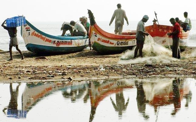 <p>Fishermen who venture into the sea for their livelihood are frequently  arrested by the Sri Lankan Navy on charges of crossing the international  maritime border. </p>