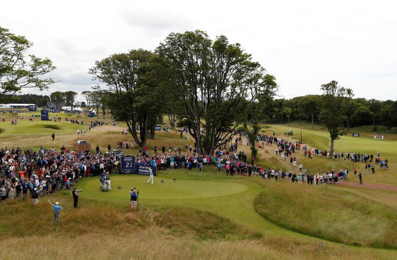 Golf: Scottish Open to be played without fans due to rise in COVID-19 cases