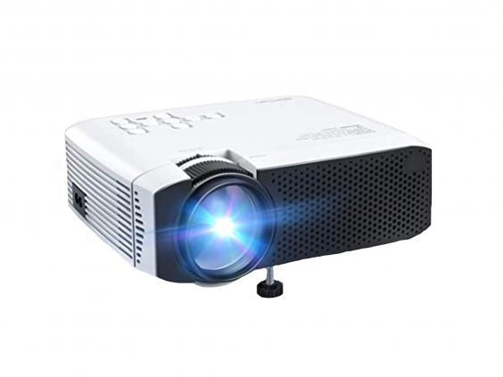 This inexpensive projector delivers a high-quality picture and is compatible with your phone, laptop, TV and Xbox (Amazon)