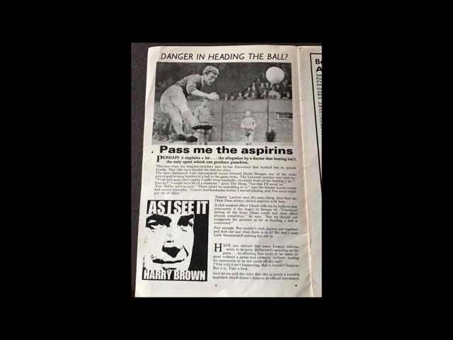 Article from the Football League Review from October 1966