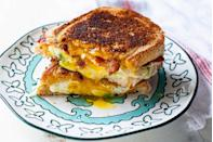 """<p>Cheese, bread, and butter are good enough on their own. But this one has a few other surprise components that earn it the """"ultimate"""" title.</p><p><strong><a href=""""https://thepioneerwoman.com/food-and-friends/ultimate-grilled-cheese-sandwich/"""" rel=""""nofollow noopener"""" target=""""_blank"""" data-ylk=""""slk:Get the recipe."""" class=""""link rapid-noclick-resp"""">Get the recipe.</a></strong></p><p><a class=""""link rapid-noclick-resp"""" href=""""https://go.redirectingat.com?id=74968X1596630&url=https%3A%2F%2Fwww.walmart.com%2Fip%2FThe-Pioneer-Woman-Timeless-Beauty-Pre-Seasoned-Plus-20-Cast-Iron-Double-Griddle%2F117723541&sref=https%3A%2F%2Fwww.thepioneerwoman.com%2Ffood-cooking%2Fmeals-menus%2Fg32188535%2Fbest-grilling-recipes%2F"""" rel=""""nofollow noopener"""" target=""""_blank"""" data-ylk=""""slk:SHOP GRIDDLES"""">SHOP GRIDDLES </a></p>"""