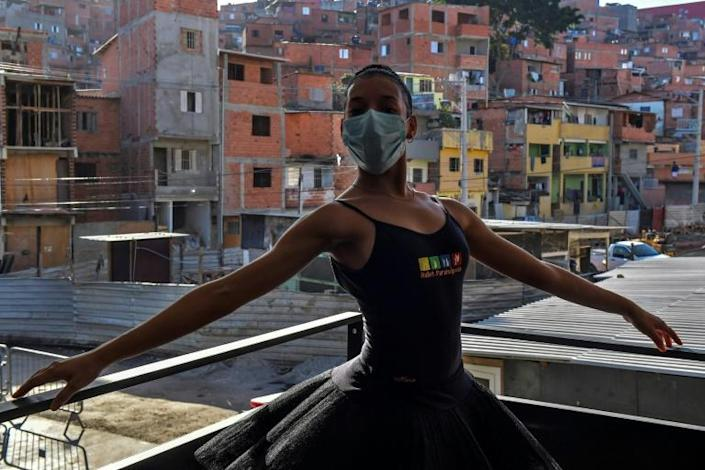 'I was really anxious to come back,' said 17-year-old dancer Kemilly Luanda