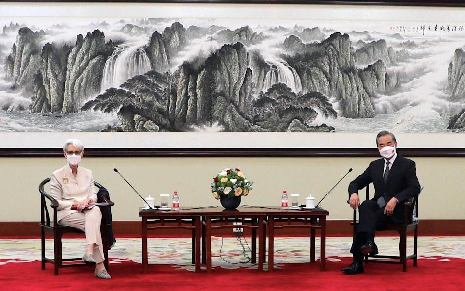 US Deputy Secretary of State Wendy Sherman meets Chinese State Councilor and Foreign Minister Wang Yi in Tianjin - U.S. DEPARTMENT OF STATE