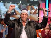 "<p>""How do you do, fellow kids?"" — Bruce Willis showing up on <em>TRL</em> in this leather jacket*</p><p>*So sorry, this is actually a leather jacket <em>over</em> a jean jacket. <br> </p>"