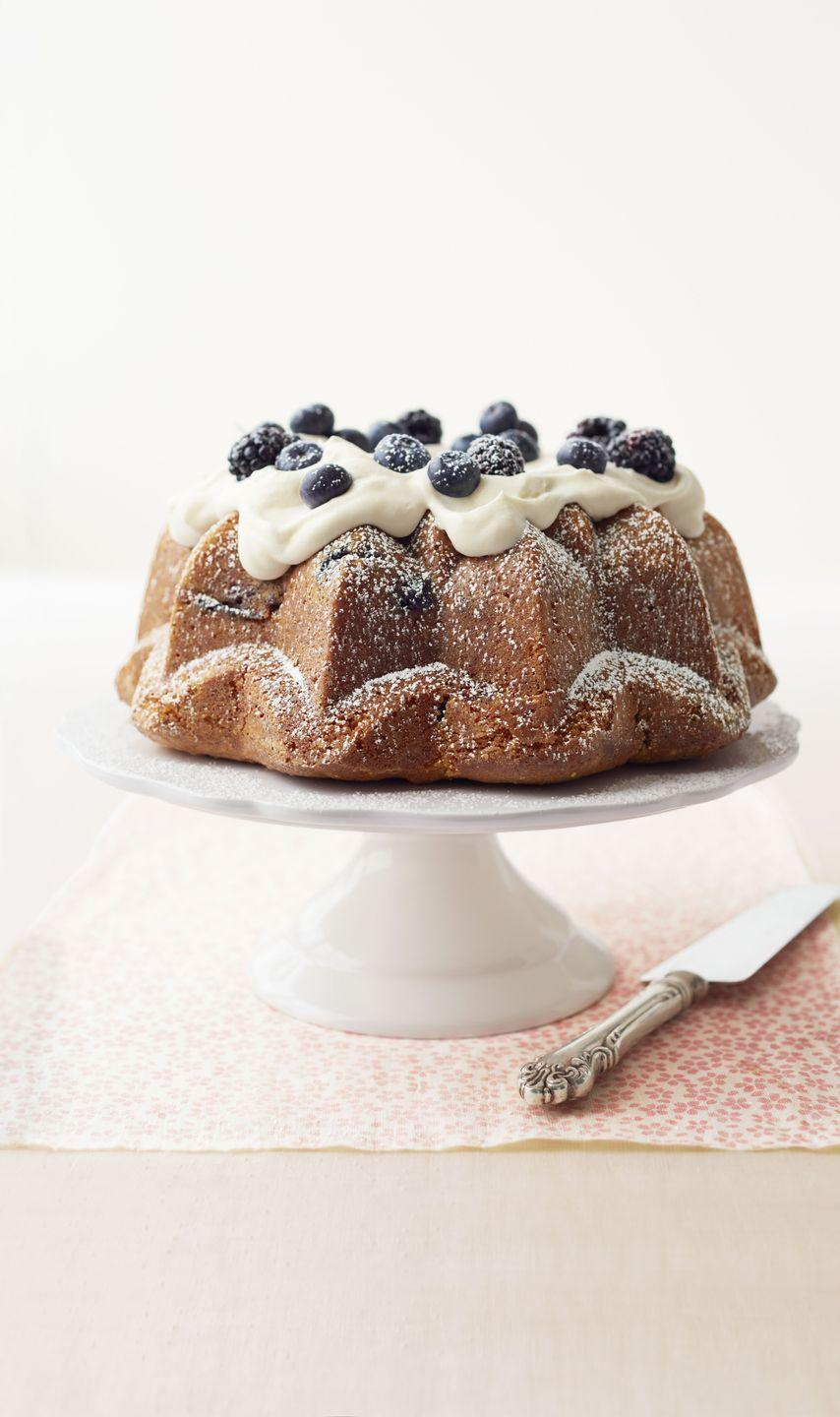 """<p>Two cups of berries baked in and sprinkled on top give true meaning to this Bundt's name. Try a mix of red and blue berries for the most patriotic pastry.</p><p><em><a href=""""https://www.goodhousekeeping.com/food-recipes/a15192/bursting-berries-lemon-curd-cake-recipe-ghk0513/"""" rel=""""nofollow noopener"""" target=""""_blank"""" data-ylk=""""slk:Get the recipe for Bursting-with-Berries Lemon Curd Cake »"""" class=""""link rapid-noclick-resp"""">Get the recipe for Bursting-with-Berries Lemon Curd Cake »</a></em></p><p><strong>RELATED: </strong><a href=""""https://www.goodhousekeeping.com/holidays/g1748/red-white-blue-july-fourth-desserts/"""" rel=""""nofollow noopener"""" target=""""_blank"""" data-ylk=""""slk:30 Red, White, and Blue Desserts to Celebrate 4th of July In the Sweetest Way"""" class=""""link rapid-noclick-resp"""">30 Red, White, and Blue Desserts to Celebrate 4th of July In the Sweetest Way</a></p>"""