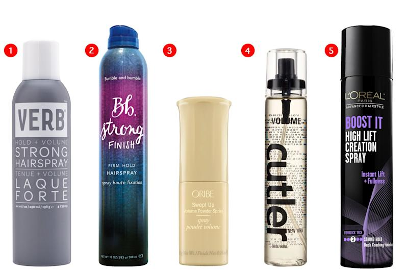 A Few of the Best Volumizing Hair Products this Spring